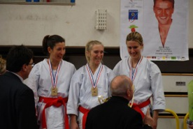 Caroline Coaching Championnat Karaté